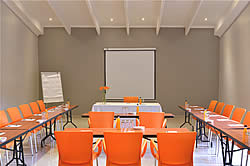 Conference room at Bundu Lodge