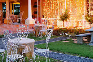 Garden with Fairy Lights, De Ark Guest House and B&B Accommodation Lydenburg, Lydenburg Self Catering Accommodation, Lydenburg B&B Accommodation, Lydenburg Guest House Accommodation, Affordable Accommodation Lydenburg