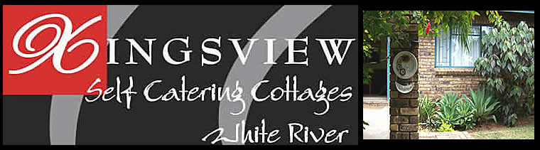 White River self catering - White River accommodation - Affordable accommodation in White River - Accommodation close to Kruger Park - Kingsview Self Catering Cottages in White River - entrance