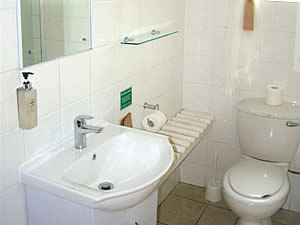 Ensuite bathroom accommodation in Lydenburg